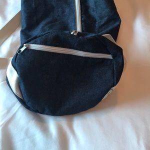 "Bags - ""Gym & Juice"" duffel bag"